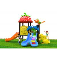 Buy cheap Attractive Roto - Molded Kids Outdoor Plastic Slide For 2 - 6 Years Old from wholesalers