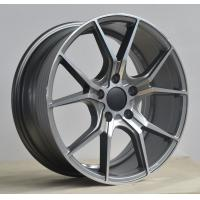 Buy cheap KIN-5046 17 Inch Alloy Wheels 5 Holes Car Black Alloy Wheels Rim from wholesalers