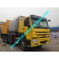 Buy cheap 5.5KW 6x4r Concrete Pump Trucks Right Hand Drive 9835×2496×3840 Mm from wholesalers