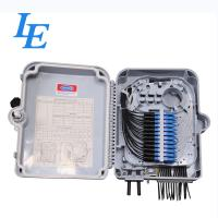Buy cheap 16 Cores Fiber Optic Distribution Box IP Grade IP65 Wall Mounted Type from wholesalers