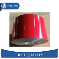 Buy cheap Red Powder Coated Aluminum Sheet Coil Thermal Insulation Material from wholesalers
