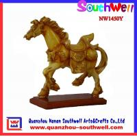Buy cheap Exquisite Polyresin Horse Sculptures from wholesalers