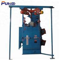 Buy cheap Electric Fuel Double Hook Type Shot Blasting Machine With Compact Structure from wholesalers