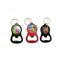Buy cheap Custom Printing Services 3D Lenticular Keyring 3D Bottle Opener For Promotion from wholesalers