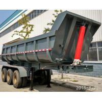 Buy cheap Hydraulic Rear End Dump Semi Trailer With U Shaped Tipping Trailer from wholesalers