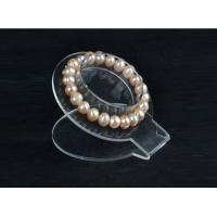 Buy cheap 3mm Acrylic Jewelry Display Rack Bracelet Holder Transparent 150×150×500 mm from wholesalers