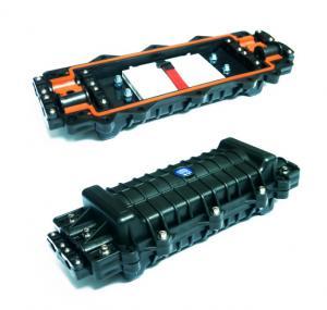 Buy cheap Splice Inline 4 Port Fiber Joint Enclosure Box IP Rated 96 Fibre PC Material product