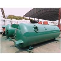 Buy cheap Horizontal Sandblasting Galvanized Steel Water Storage Tanks 300 Litre - 3000 Litre from wholesalers