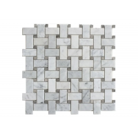 Buy cheap 304*304*10mm Honed Marble Mosaic Tiles from wholesalers