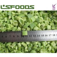 Buy cheap new crop frozen sweet green pepper dices from wholesalers