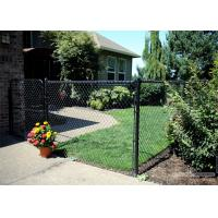Buy cheap green wire mesh/hurricane fence PVC PE coated Chain Wire Hurricane Fence from wholesalers