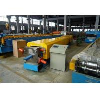 Buy cheap 4kw Aluminium Gutter Roll Forming Machine With Metal Sheet Bending Machine from wholesalers