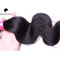 Buy cheap Smooth No Chemical Brazilian Virgin Hair / Body Wave Hair Weft No Splits from wholesalers