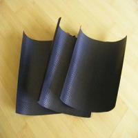 Buy cheap Geotextile Drainage Fabric / PP Woven Geotexte White , Black , Green from wholesalers