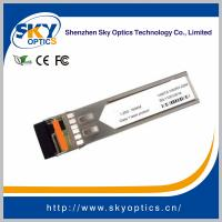 Buy cheap 1.25G SFP BiDi 160KM Transceive 1490/1550nm(1550/1490nm) with DDM product