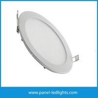 Buy cheap High Efficiency Ultra Slim Led Panel Light , 3w Led Round Panel Light AC85-265V from wholesalers