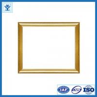 Buy cheap Beautiful designed golden anodized aluminium frame for photo frame from wholesalers