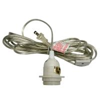 Buy cheap 11' Clear Cord for Lanterns (UL Listed) product