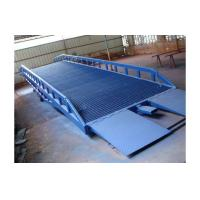 Buy cheap 8 ton hydraulic movable loading forklift container ramp/ Hydraulic car ramps for sale/loading dock ramps from wholesalers