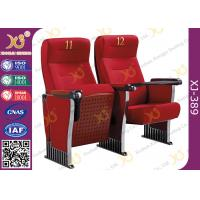 Buy cheap Anti Stained PU Molded Foam Auditorium Furniture Foldable Audience Seating Chairs from wholesalers