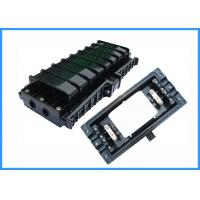 Buy cheap 48 Cores Fiber Optic Joint Enclosure , Optical Fiber Joint Closure Black Color from wholesalers