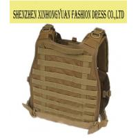 Buy cheap Polyester Military Green Tactical Bulletproof Vest For Women , Ballistic Body Armor from wholesalers