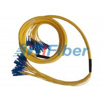 Buy cheap Fiber Optic Jumper SM MM Simplex Duplex Breakout Fiber Optic Patch Cord Universal from wholesalers