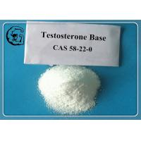 Buy cheap Anabolic Raw Steroid Powder Source Pure Testosterone Base Weight Loss CAS 58-22-0 from wholesalers