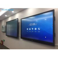 Buy cheap LCD Wide Flat Interactive Touch Screen Kiosk 55 Inch Ultra Thin 4K Smart TV from wholesalers