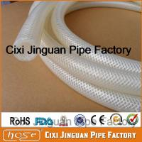 "Buy cheap 3/4"" Clear Braided Silicone Hose from wholesalers"