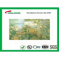 Buy cheap 14 Layer GPS PCB FR370 Quick Turn PCB Prototypes  BGA and IC pad size 350X200mm from wholesalers