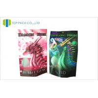 Buy cheap Individual Herbal Incense Bag Resealable Zipper Stand Up or Flat Type product