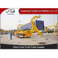 Buy cheap 40ft Self Loading Container Trailer 3 * 13 Tons Axles Mechanical Suspension from wholesalers