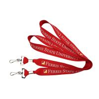 Buy cheap Promotional Polyester Flat Lanyards from wholesalers