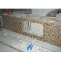Buy cheap Baltic Gold Granite Stone Slab Countertop Solid Surface Vanity Tops For Bathroom from wholesalers