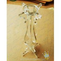 Buy cheap CH (51) bubble Acrylic candle holder from wholesalers