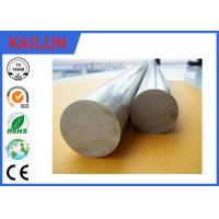 Buy cheap 6063 Aluminium Round Bar Stock , OD 12 Mm Solid Aluminum Rod For Shafts / Stakes / Ornamental from wholesalers
