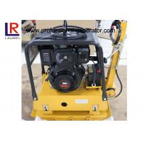 Buy cheap Road Construction Gasoline Vibrating Plate Compactor with Hydraulic Control product
