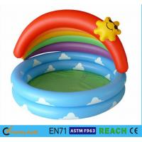 Buy cheap Cartoon Design Children ' S Inflatable Pool , Baby Swimming Pool Tub Super Convenience from wholesalers
