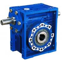 Buy cheap 75:1 Ratio High Efficiency / Torque NRV Series Worm Gear Reduction Box 1400Rpm from wholesalers