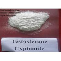 Buy cheap Lean Mass Gaining Anabolic Steroids Testosterone Cypionate CAS 58-20-8 Raw Powder or Injection from wholesalers
