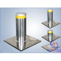 Buy cheap Custom Manual Hydraulic Security Bollards , Stainless Steel Automatic Road Blocker from wholesalers