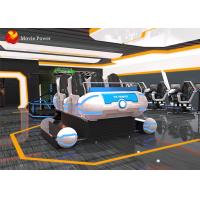 Buy cheap Amusement Park Equipment 6 seats indoor cinema 9d virtual reality experience game simulator from wholesalers