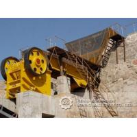 Buy cheap High efficient limestone, ore, rock stone crushing plant for sale from wholesalers