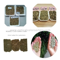 Buy cheap 300kg/Hour 120L/Min Roasted Coffee Bean Color Sorter from wholesalers