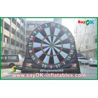 Buy cheap 0.55mm PVC Inflatable Sports Games Velcro Dart Football Games Board from wholesalers