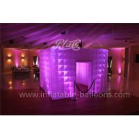 Buy cheap Color Changing Led Cube Inflatable Event Tent Custom For Exhibition from wholesalers
