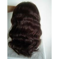 China Brown wave wigs on sale