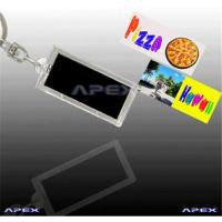 Buy cheap Photo Insertable Solar Key Chain (two images flashing) from wholesalers