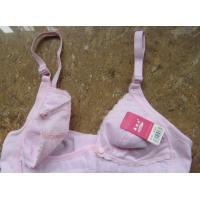 Buy cheap Pink 44E Seamless Adjustable Sleep Anti-Bacterial Adults Sexy ODM Underwire Nursing Bra from wholesalers